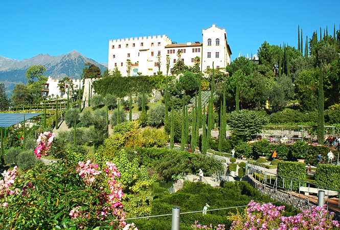 Summer holidays Merano - sightseeing Merano